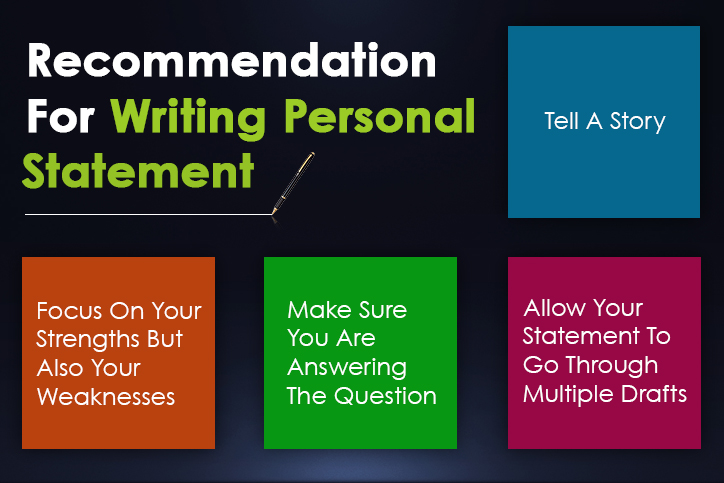 Tips to Write an Effective Personal Statement When Applying For College or School