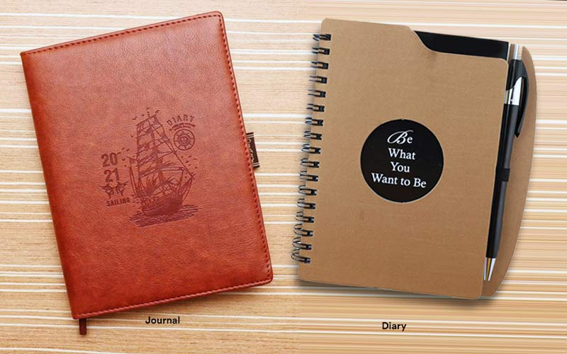 What is the difference between a Journal and a Diary?