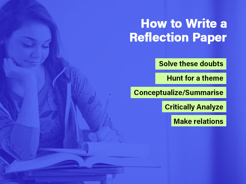 How to write a reflection paper; A broader outlook