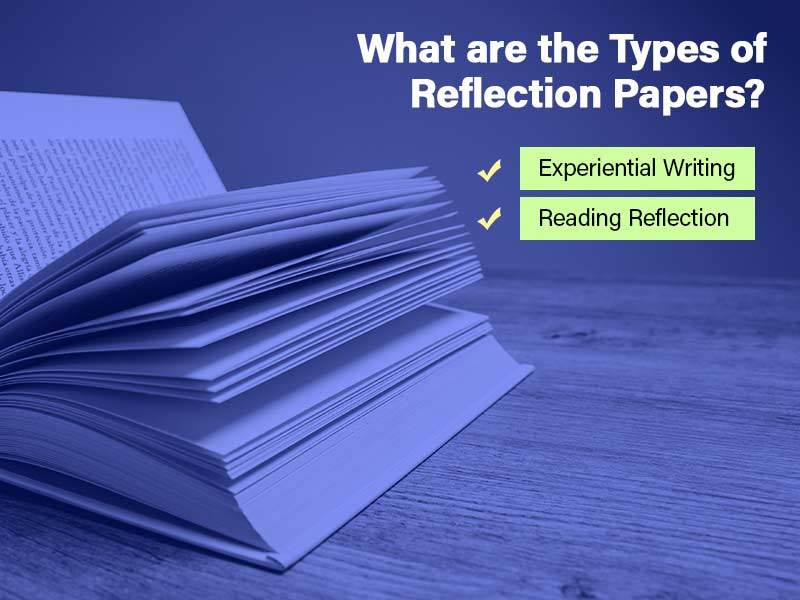 What are the types of reflection papers?
