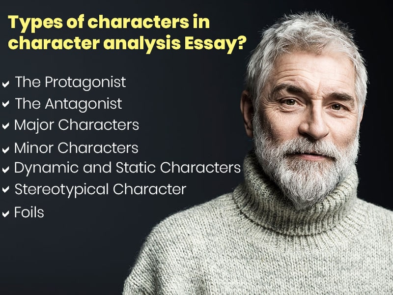 Types of characters in character analysis Essay?