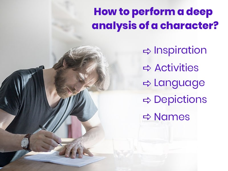 How to perform a deep analysis of a character?