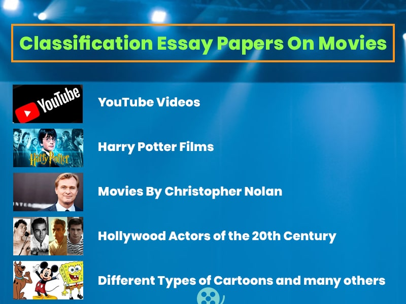 Classification Essay Papers On Movies