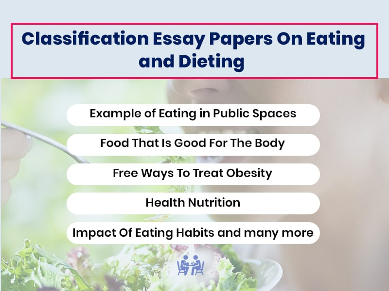 Classification Essay Papers On Eating and Dieting