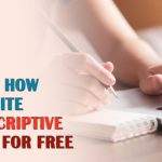 Learn How to Write a Descriptive Essay For Free